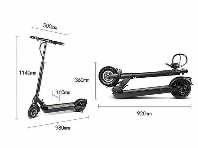 Joyor A1 patinete eléctrico plegable
